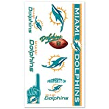 Miami Dolphins Tattoos at Amazon.com