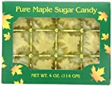 Butternut Mountain Farm Pure Maple Sugar Candy, 4 Ounce Box