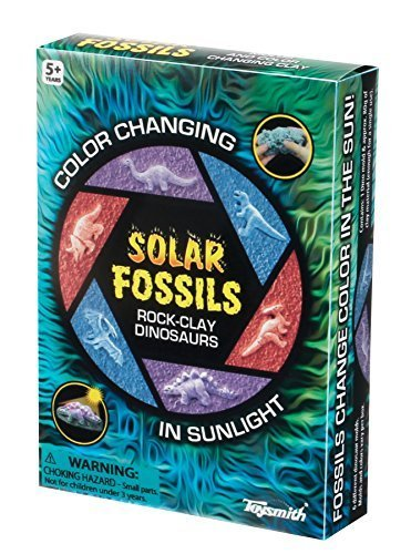 Toysmith Solar Fossils Playset - 1
