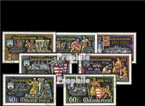 Ungarn 2782A-2788A (kompl.Ausg.) gestempelt 1972 Stuhlweißenburg (Briefmarken für Sammler)