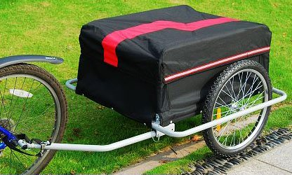 Aosom Elite Luggage Trailer Removable