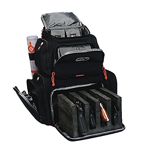G.P.S. Handgunner Backpack, Black (Range Bag Tactical Backpack compare prices)