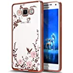 Galaxy J3 Case,ikasus Pink Butterfly...