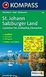 St. Johann - Salzburger Land: Wanderkarte mit Aktiv Guide, Panorama, alpinen Skirouten und Radrouten. GSP-genau. 1:50000 (KOMPASS-Wanderkarten)