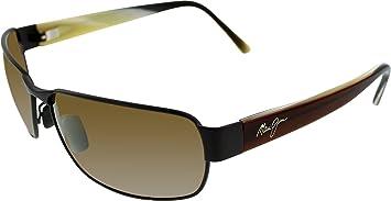 8cf2e69d8ed309 Maui Jim Black Coral H249-19M Matt Espresso frame avec HCL Bronze lentilles  polarised lunettes de soleil !