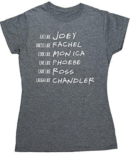 hippowarehouse-be-like-rachel-monica-phoebe-joey-chandler-ross-womens-fitted-short-sleeve-t-shirt