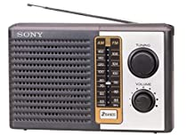Sony Icf-f10 Fm/am Two 2 Band Am Fm Portable Battery Transistor Radio