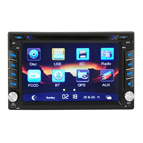 Auto-Stereo-DVD-Spieler - Kenwood GPS-Navigation HD-Doppeltes 2 DIN-Auto-Stereo-DVD-Spieler Bluetooth Radio MP3 In Dash