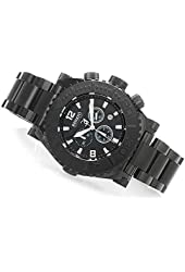 Renato Men's Emporium Chronograph Stainless Steel All Black