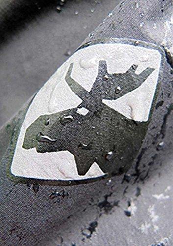 Deproc Finlay Regenjacke für Damen (Übergrößen), grün, 50 -
