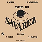 Savarez 520P1 Traditional Classical Guitar Strings, High Tension, Red Card