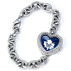 Toronto Maple Leafs Gametime Heart Bracelet/Watch