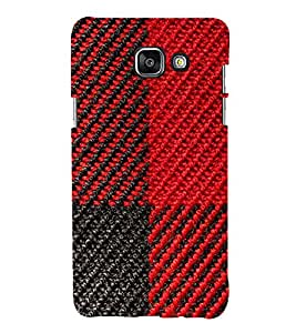 printtech Woolen Thread Pattern Back Case Cover for Samsung Galaxy A7 (2016)