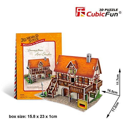 CubicFun 3D Puzzle World Style-Series ''Germany Flavor - Art Studio'' - 1