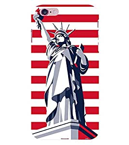 Statue of Liberty 3D Hard Polycarbonate Designer Back Case Cover for Apple iPhone 6S Plus