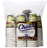 Chinet Comfort Cup and Lids, 60 Count 16 oz (Styles May Vary)