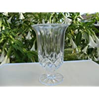 Elegant Crystal Glass Candle Holder