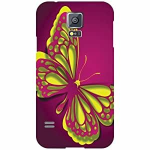 Printland Samsung Galaxy S5 Back Cover