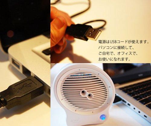 3つの効果で防臭・防菌 アイクール空気清浄器