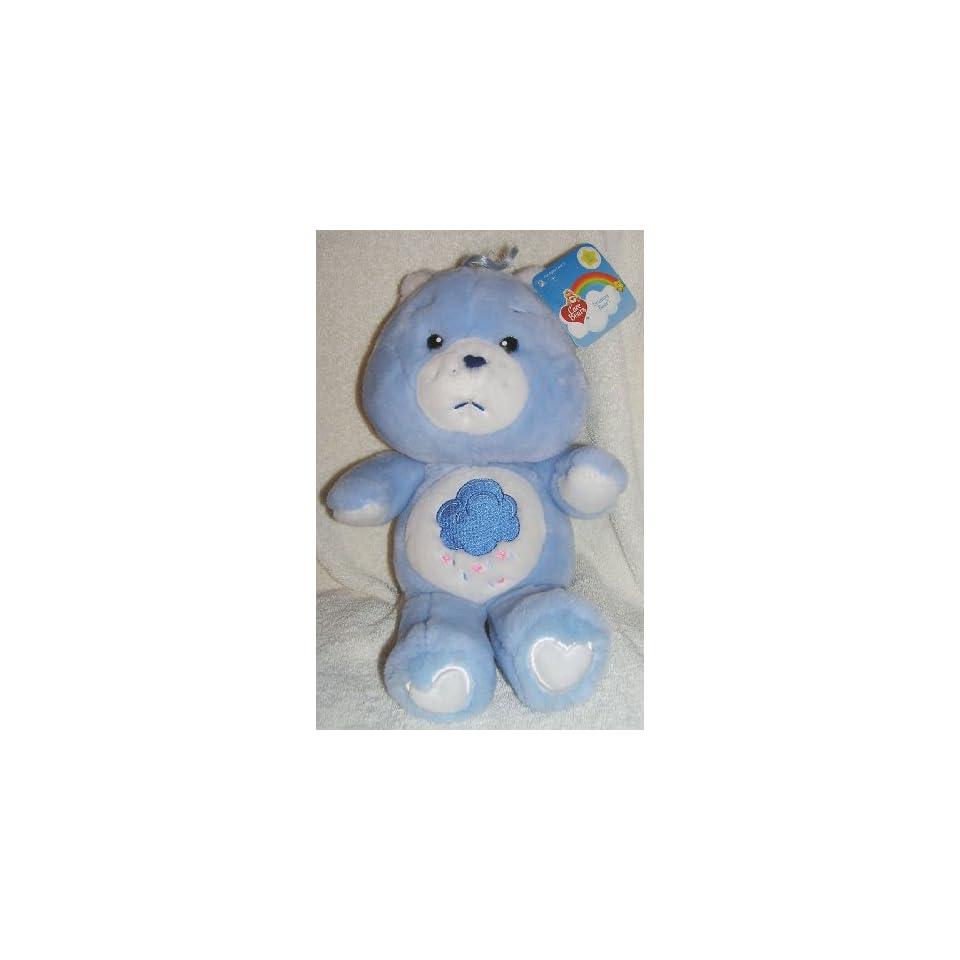 2002 Carlton Cards 20th Anniversary Care Bears 13 Plush Grumpy Bear