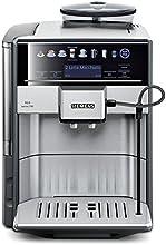 Siemens TE607503DE Kaffeevollautomat EQ.6 series 700 (19 bar, Direktanwahl durch Sensorfelder, oneTouch DoubleCup, Cappuccinatore) Edelstahl