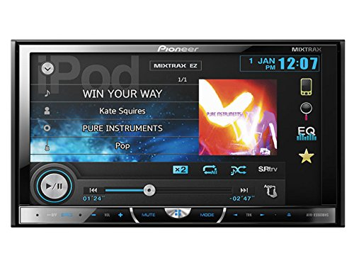 "Pioneer Avh-X5500Bhs Multimedia Dvd Receiver With 7"" Motorized Touchscreen Display"