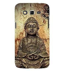 Gautam Buddha 3D Hard Polycarbonate Designer Back Case Cover for Samsung Galaxy Grand Neo Plus :: Samsung Galaxy Grand Neo Plus i9060i