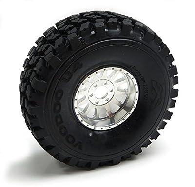 Gear Head RC 2.2 Lightweight U4 Race Wheels, Silver (4)