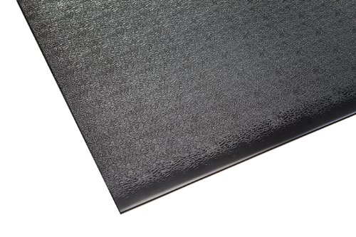 Supermats Solid Heavy Duty P.V.C. Mat for Home Gyms/Weightlifting Equipment (4-Feet x 6-Feet)