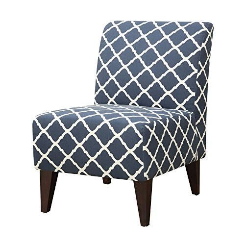 picket house north geometric accent slipper chair