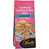 Pamela's Products Gluten Free Cookie Mix, Oatmeal, 13 Ounce