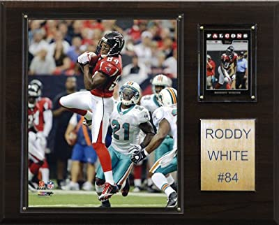 NFL Roddy White Atlanta Falcons Player Plaque