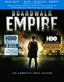 Boardwalk Empire: Complete First Season (Blu-ray/DVD Combo + Digital Copy)