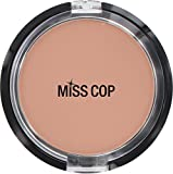 Miss Cop Compact Powder 15 g Beige Naturel