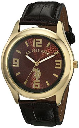 U.S. Polo Assn. Classic Men'S Usc50127 Analog Display Analog Quartz Brown Watch