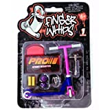 Finger Whips Stunt Scooter Pro Purple And Pink