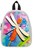 Art Fashion Dragonfly Kid's School Bag & Backpack for Kids