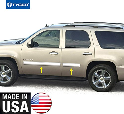 Made In USA! 2010-2014 Chevy Tahoe/GMC Yukon Body side Molding 4.25
