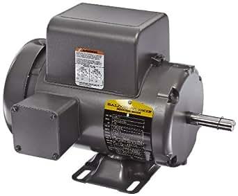 Baldor l3507 general purpose ac motor single phase 56 for Baldor single phase motor