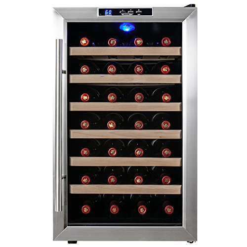 Firebird New Thermoelectric Quiet Operation Wine Cooler Cellar Chiller Refrigerator (28 bottles) (Wine Fridge Parts compare prices)