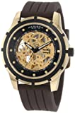 Akribos XXIV Men's AKR444YG Premier Delos Automatic Skeleton Gold Watch