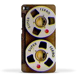FUNKYLICIOUS Huawei P8 Back Cover Cassette Tape Super Design (Multicolour)