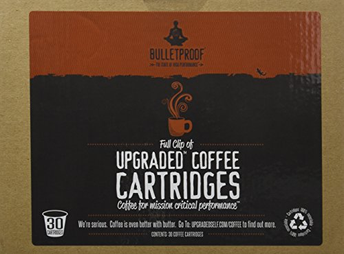 Bulletproof Upgraded Coffee Cartridges, 30 Count (Bullet Coffee Oil compare prices)