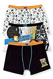 3 Pack Cotton Rich Star Wars™ Assorted Trunks