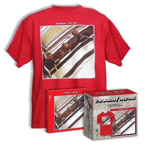 1962-1966 (The Red Album) - remastered CD + T-shirt XL