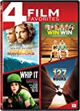 Chasing Mavericks / Win Win / Whip It / 127 Hours [DVD] [Region 1] [US Import] [NTSC]