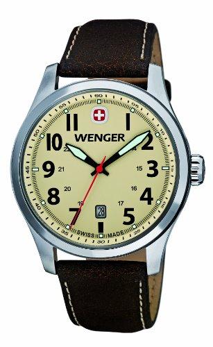 [ウェンガー]WENGER 腕時計テラグラフ 01.0541.106 メンズ 【正規輸入品】