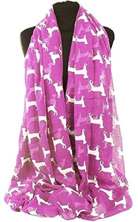 GFM Animal Print Scarf : Labrador Dogs (LBDG-01-GLB)