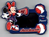 Disney Minnie Mouse Chearleader Cheer Power Picture Frame Refrigerator Magnet