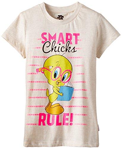 Tweety Tweety Girl's T-Shirt (Multicolor)